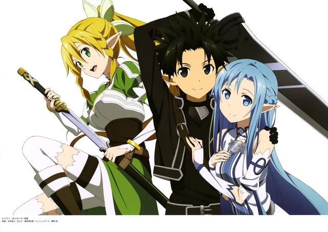 Leafa không ngại nguy hiểm để giúp Kirito cứu Asuna