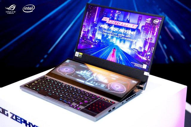 ASUS ra mắt dàn siêu laptop gaming, đỉnh nhất là ROG Zephyrus Duo 15: Core i9 gen 10, màn hình 144-300hz, giá từ 80 triệu đồng - Ảnh 2.