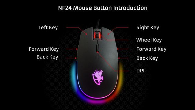 Digifast launches gaming mice and headsets for gamers, extremely affordable prices for students and students - Photo 4.