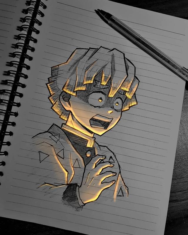 Siêu ấn tượng trước loạt ảnh các nhân vật anime phát sáng, đỉnh cao của fanart là đây chứ đâu! - Ảnh 2.