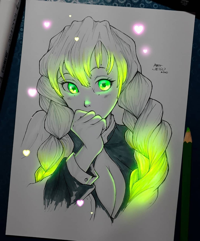 Siêu ấn tượng trước loạt ảnh các nhân vật anime phát sáng, đỉnh cao của fanart là đây chứ đâu! - Ảnh 4.