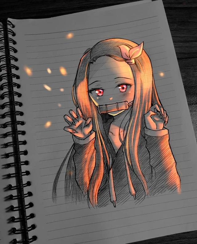 Siêu ấn tượng trước loạt ảnh các nhân vật anime phát sáng, đỉnh cao của fanart là đây chứ đâu! - Ảnh 5.