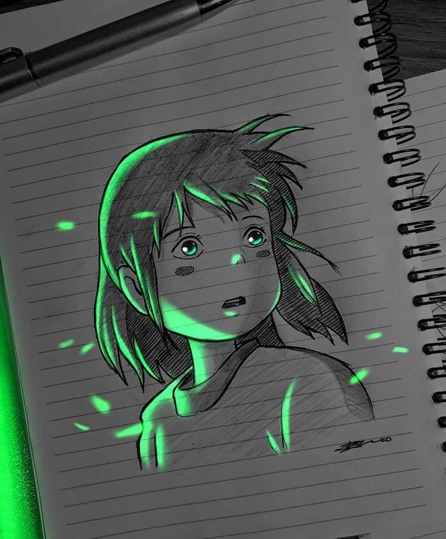 Siêu ấn tượng trước loạt ảnh các nhân vật anime phát sáng, đỉnh cao của fanart là đây chứ đâu! - Ảnh 9.