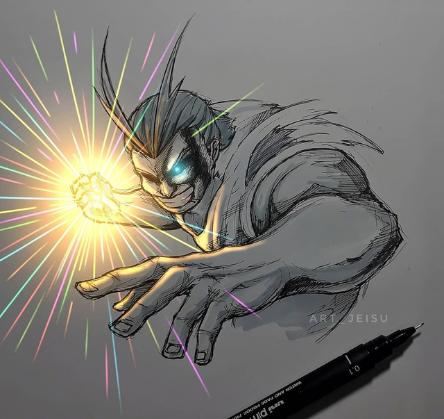 Siêu ấn tượng trước loạt ảnh các nhân vật anime phát sáng, đỉnh cao của fanart là đây chứ đâu! - Ảnh 10.
