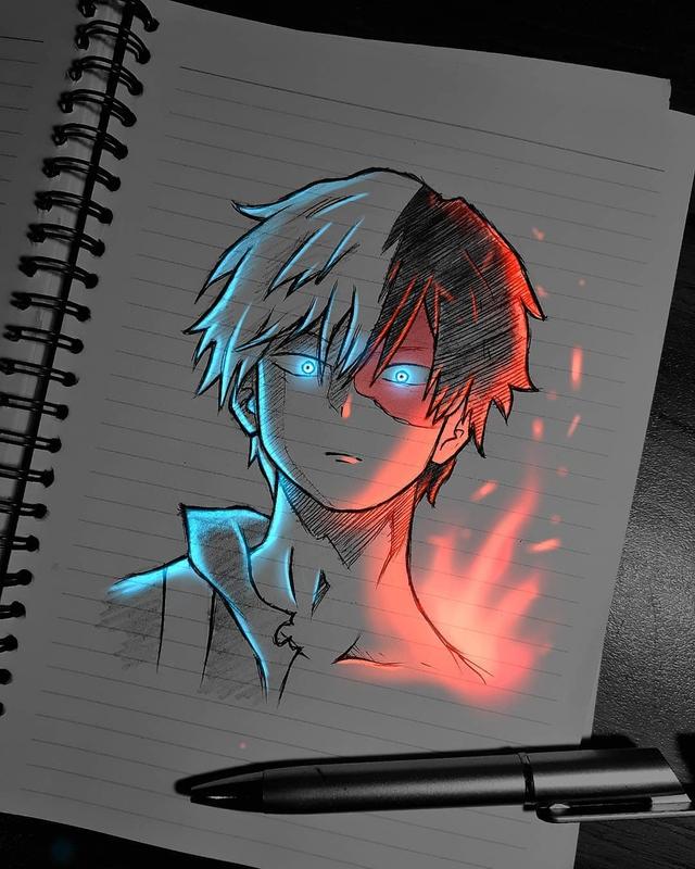 Siêu ấn tượng trước loạt ảnh các nhân vật anime phát sáng, đỉnh cao của fanart là đây chứ đâu! - Ảnh 12.