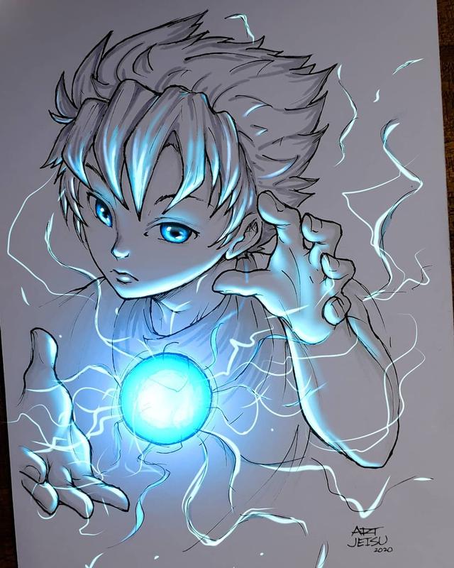 Siêu ấn tượng trước loạt ảnh các nhân vật anime phát sáng, đỉnh cao của fanart là đây chứ đâu! - Ảnh 16.