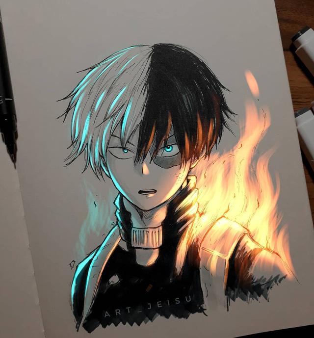 Siêu ấn tượng trước loạt ảnh các nhân vật anime phát sáng, đỉnh cao của fanart là đây chứ đâu! - Ảnh 19.
