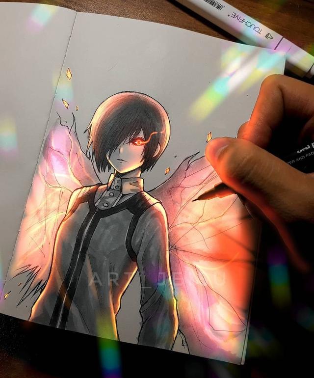 Siêu ấn tượng trước loạt ảnh các nhân vật anime phát sáng, đỉnh cao của fanart là đây chứ đâu! - Ảnh 21.