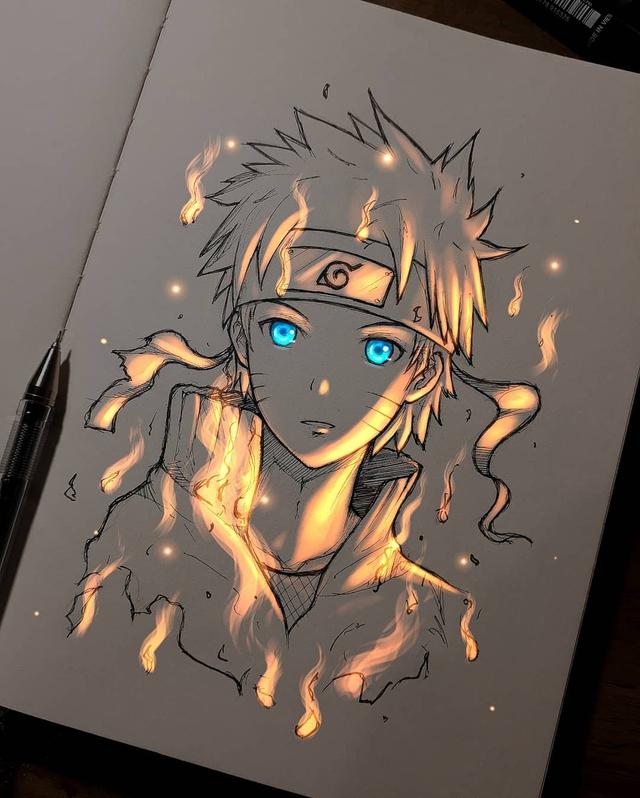 Siêu ấn tượng trước loạt ảnh các nhân vật anime phát sáng, đỉnh cao của fanart là đây chứ đâu! - Ảnh 23.