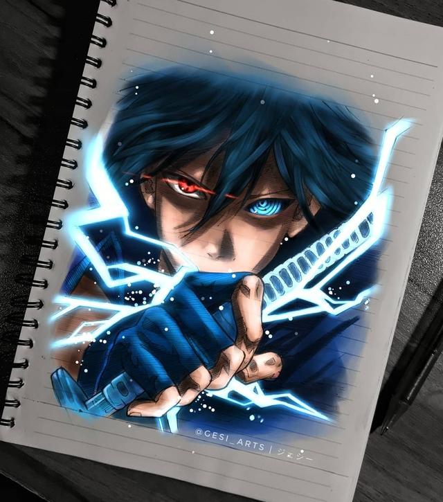 Siêu ấn tượng trước loạt ảnh các nhân vật anime phát sáng, đỉnh cao của fanart là đây chứ đâu! - Ảnh 24.