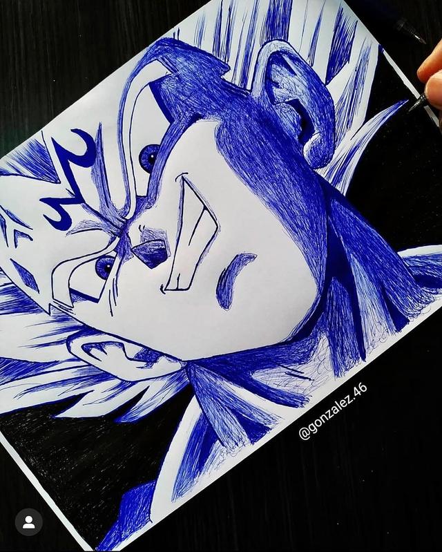Mãn nhãn khi ngắm loạt ảnh vẽ lại các nhân vật trong Dragon Ball bằng bút bi - Ảnh 5.