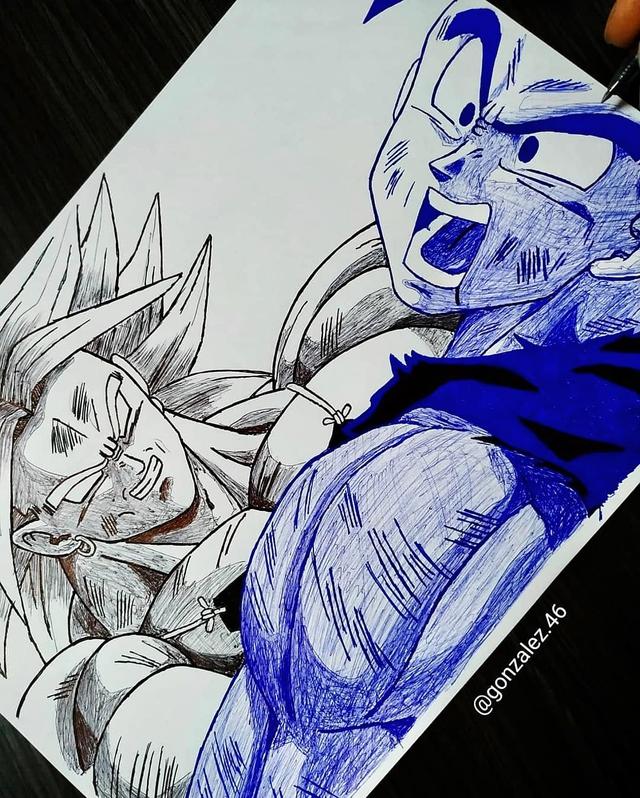Mãn nhãn khi ngắm loạt ảnh vẽ lại các nhân vật trong Dragon Ball bằng bút bi - Ảnh 13.