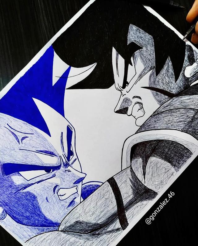 Mãn nhãn khi ngắm loạt ảnh vẽ lại các nhân vật trong Dragon Ball bằng bút bi - Ảnh 15.