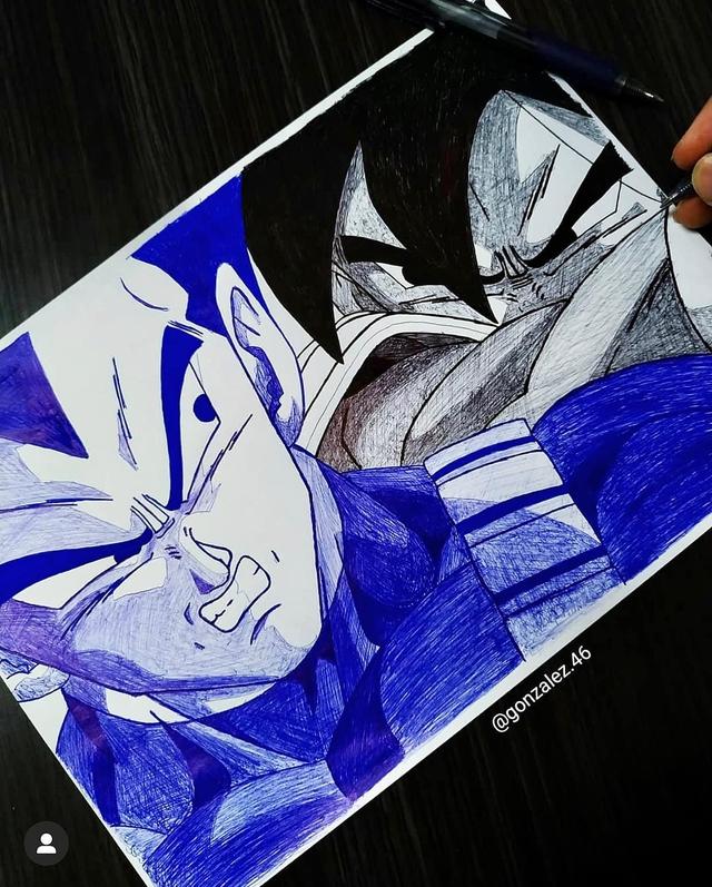 Mãn nhãn khi ngắm loạt ảnh vẽ lại các nhân vật trong Dragon Ball bằng bút bi - Ảnh 16.