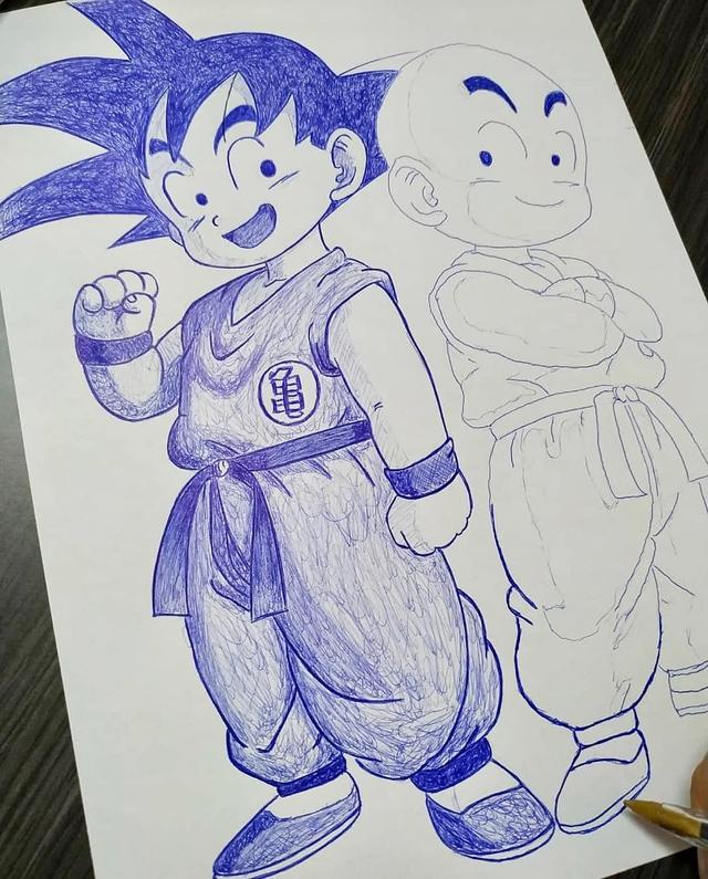 Mãn nhãn khi ngắm loạt ảnh vẽ lại các nhân vật trong Dragon Ball bằng bút bi - Ảnh 17.