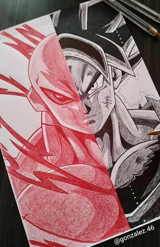 Mãn nhãn khi ngắm loạt ảnh vẽ lại các nhân vật trong Dragon Ball bằng bút bi - Ảnh 18.