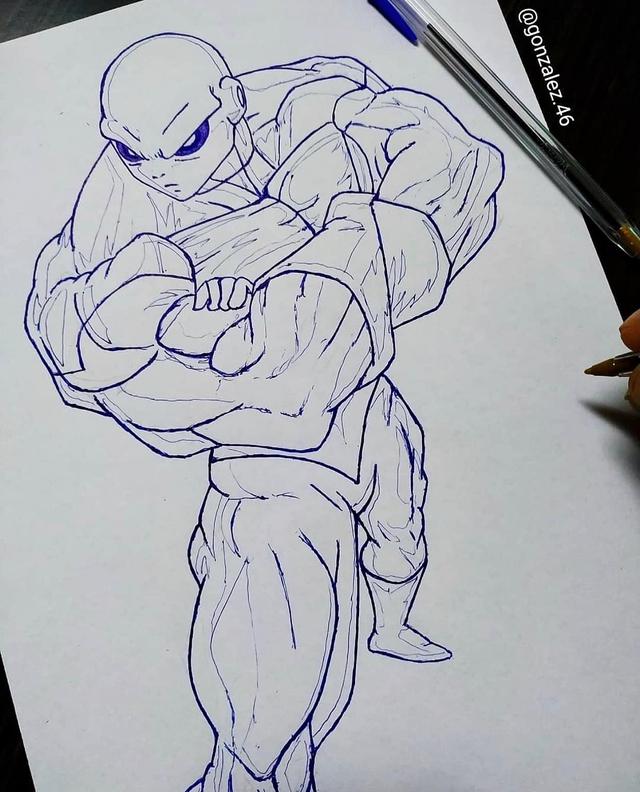 Mãn nhãn khi ngắm loạt ảnh vẽ lại các nhân vật trong Dragon Ball bằng bút bi - Ảnh 25.