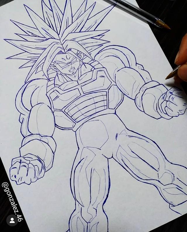 Mãn nhãn khi ngắm loạt ảnh vẽ lại các nhân vật trong Dragon Ball bằng bút bi - Ảnh 26.