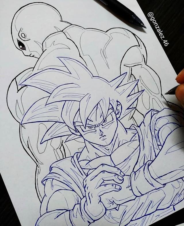 Mãn nhãn khi ngắm loạt ảnh vẽ lại các nhân vật trong Dragon Ball bằng bút bi - Ảnh 27.