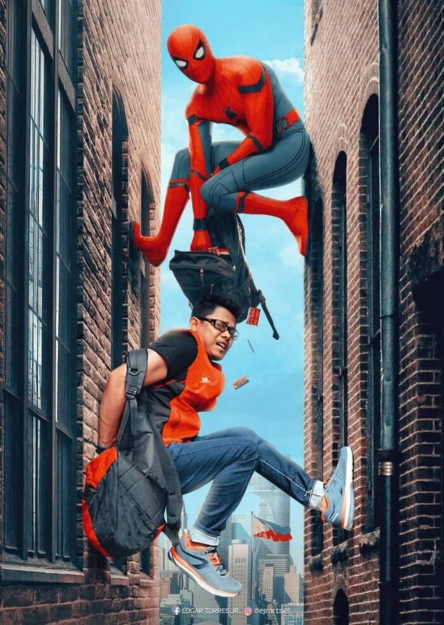 Chiêm ngưỡng loạt poster cực đỉnh do fan Marvel làm, sốc nhất khi đi đâu cũng thấy cái mặt của tác giả trong đó - Ảnh 1.