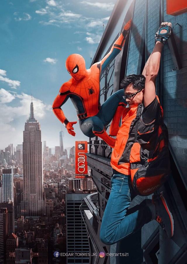 Chiêm ngưỡng loạt poster cực đỉnh do fan Marvel làm, sốc nhất khi đi đâu cũng thấy cái mặt của tác giả trong đó - Ảnh 10.