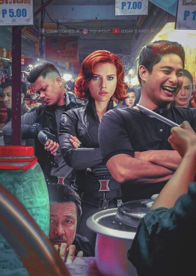 Chiêm ngưỡng loạt poster cực đỉnh do fan Marvel làm, sốc nhất khi đi đâu cũng thấy cái mặt của tác giả trong đó - Ảnh 5.
