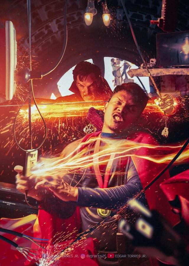 Chiêm ngưỡng loạt poster cực đỉnh do fan Marvel làm, sốc nhất khi đi đâu cũng thấy cái mặt của tác giả trong đó - Ảnh 8.