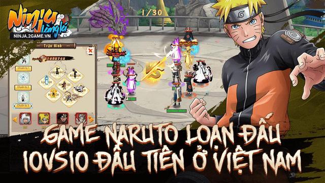 Rất nhiều đội Nhẫn giả hùng mạnh đang chờ đợi sát cánh cùng người chơi Ninja Làng Lá Mobile - Ảnh 2.