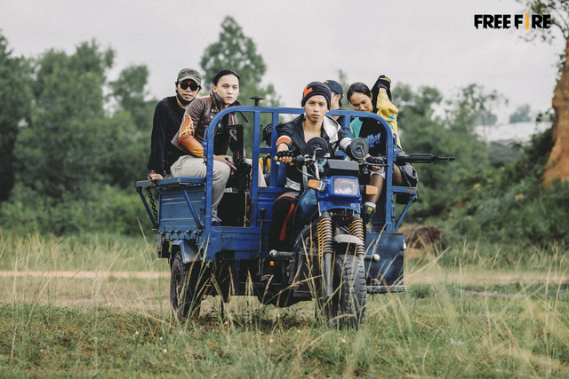 Garena Free Fire tung teaser MV bài hát Sinh Tồn Để Chiến Thắng cực chất, 2 nhân vật chính ngầu khỏi bàn - Ảnh 4.