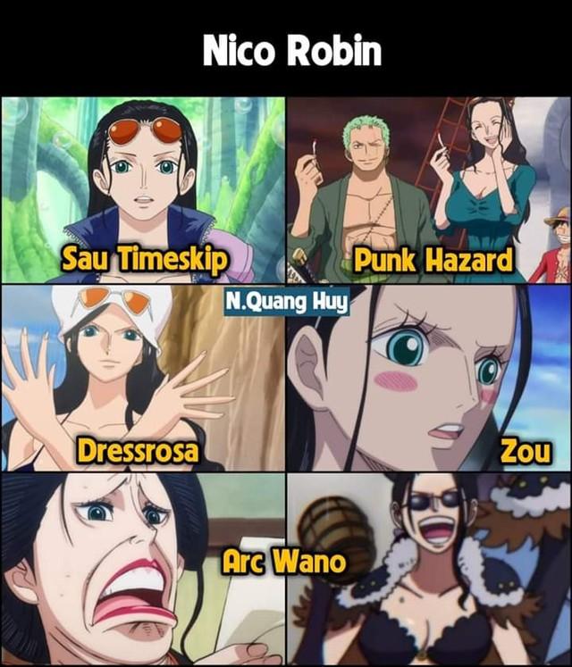 One Piece: Robin và hành trình đánh mất hình tượng khi gia nhập băng Mũ Rơm - Ảnh 2.