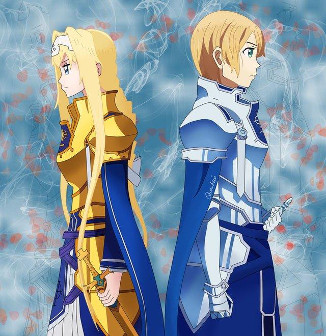 Sword Art Online: Mấy ai được như Eugeo, chàng trai chấp nhận việc người mình yêu lại chỉ yêu bạn thân Kirito - Ảnh 2.