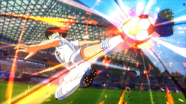 Admire the super kicks in the legendary game Captain Tsubasa: Rise of New Champions - Photo 1.