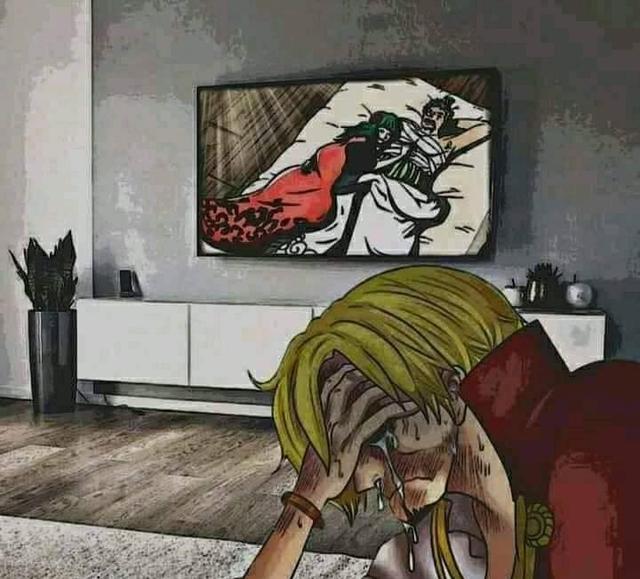 One Piece: Top 6 ảnh chế hot nhất tuần qua, Sanji đau đớn khi Zoro được ngủ cùng mỹ nữ đẹp nhất Wano quốc - Ảnh 2.