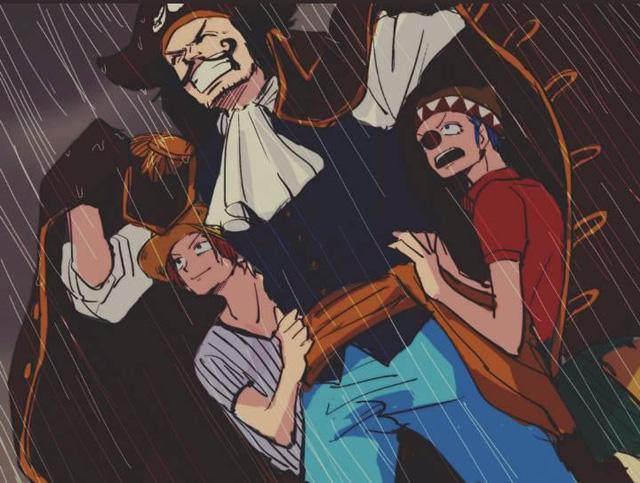 One Piece: Hình ảnh Shanks và Buggy nép người bên cạnh Vua Hải Tặc đã được lên sóng anime khiến fan thích thú - Ảnh 1.