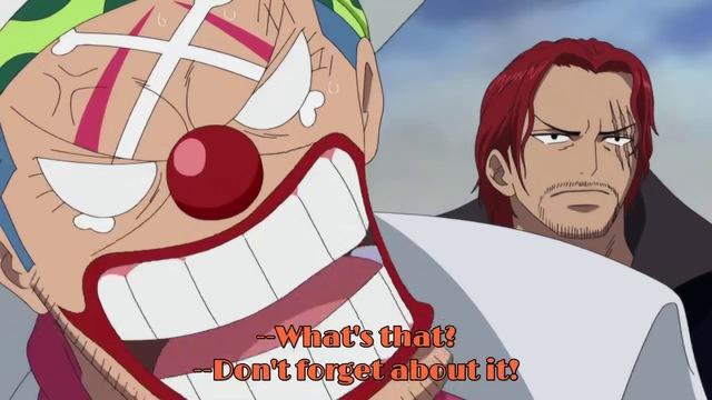One Piece: Hình ảnh Shanks và Buggy nép người bên cạnh Vua Hải Tặc đã được lên sóng anime khiến fan thích thú - Ảnh 4.