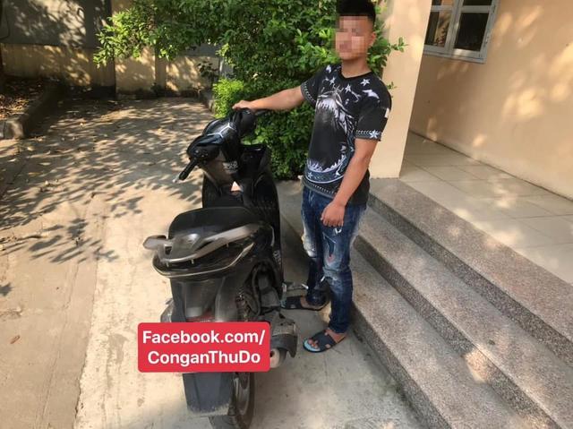 Khoe clip bốc đầu trên Facebook, nam thanh niên bị tạm giữ xe SH, phạt 4,3 triệu đồng - Ảnh 2.
