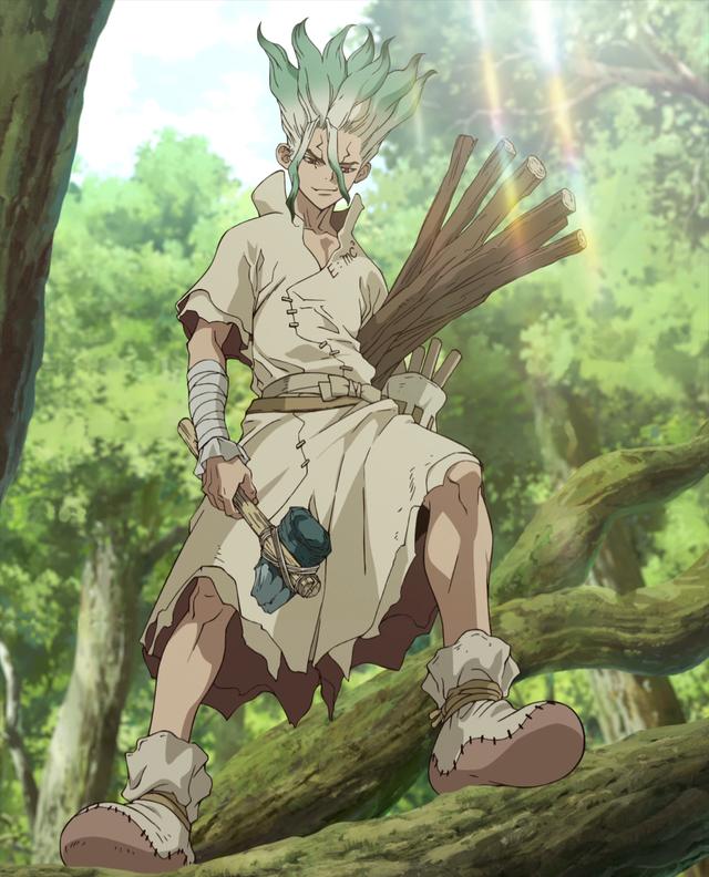 Dr. Stone: Thông minh tuyệt đỉnh, Senku Ishigami chính là chàng trai vàng trong làng nghiên cứu khoa học - Ảnh 4.
