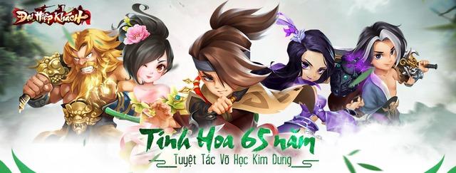 Đại Hiệp Khách - Game kiếm hiệp Kim Dung do người Việt phát triển nhá hàng những hình ảnh đầu tiên - Ảnh 2.