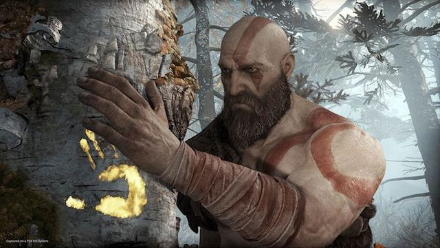 Cộng đồng game thủ thi nhau ném đá quảng cáo lố bịch: God of War trên Laptop Gaming - Ảnh 1.