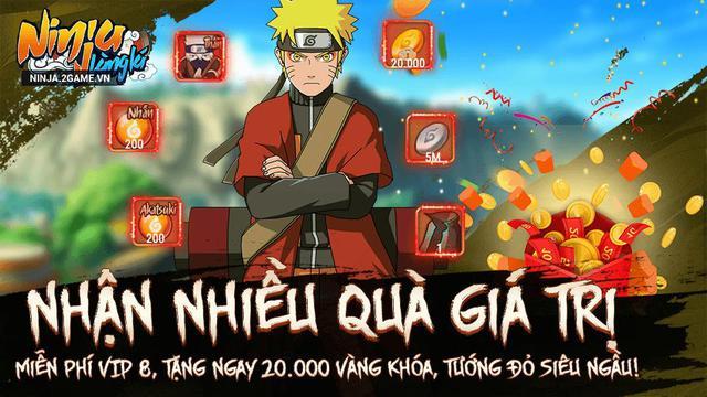 Ninja Làng Lá Mobile chìu fan Naruto hết nấc tặng miễn phí VIP 8, Tướng đỏ mừng ra mắt game hôm nay 4/8 - Ảnh 4.