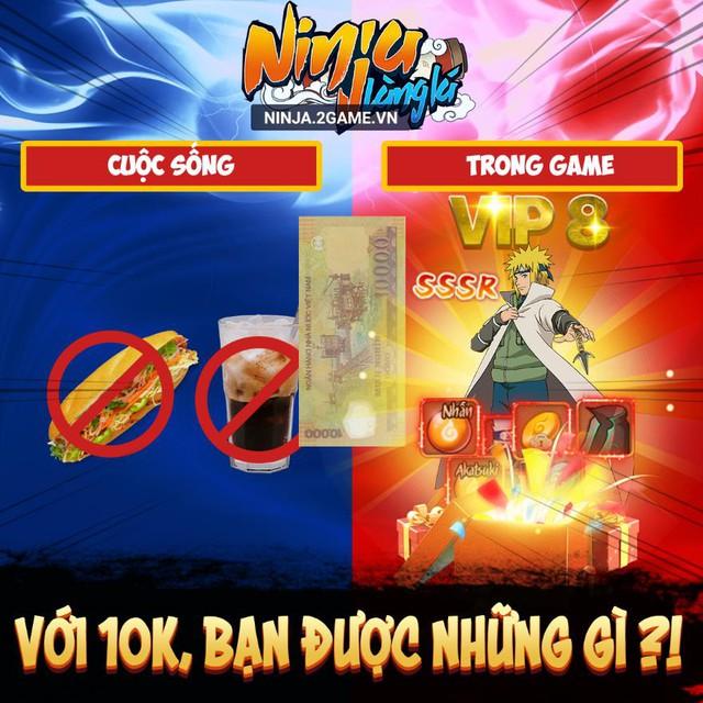 Ninja Làng Lá Mobile chìu fan Naruto hết nấc tặng miễn phí VIP 8, Tướng đỏ mừng ra mắt game hôm nay 4/8 - Ảnh 5.