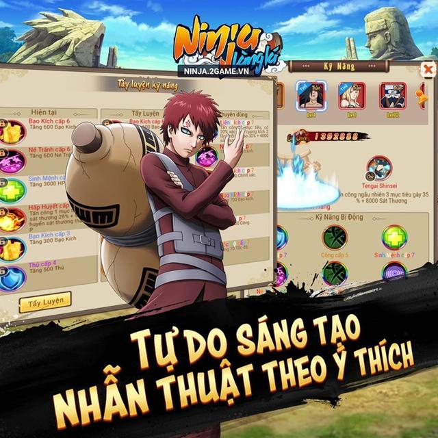 Ninja Làng Lá Mobile tặng 500 Giftcode siêu vip mừng ra mắt thành công - Ảnh 2.