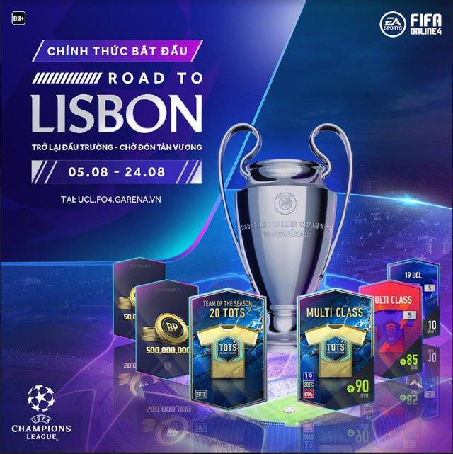 FIFA Online 4 khuấy đảo không khí Champions League bằng siêu sự kiện miễn phí suốt tháng 8 - Ảnh 1.