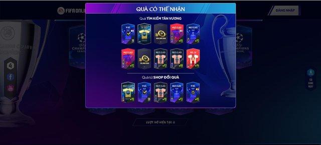 FIFA Online 4 khuấy đảo không khí Champions League bằng siêu sự kiện miễn phí suốt tháng 8 - Ảnh 2.
