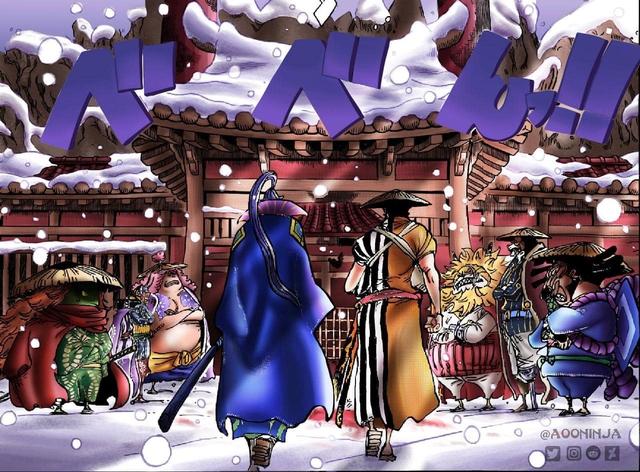 One Piece: Bộ đôi Denjiro và Kinemon cùng hành trình nằm gai nếm mật để báo thù cho chúa công Oden - Ảnh 1.