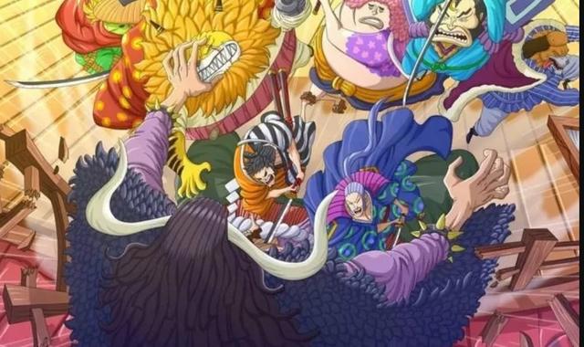 One Piecee: Sức mạnh nổi bật của các Cửu Hồng Bao- những kẻ liều lĩnh dám đánh hội đồng Tứ Hoàng Kaido - Ảnh 1.