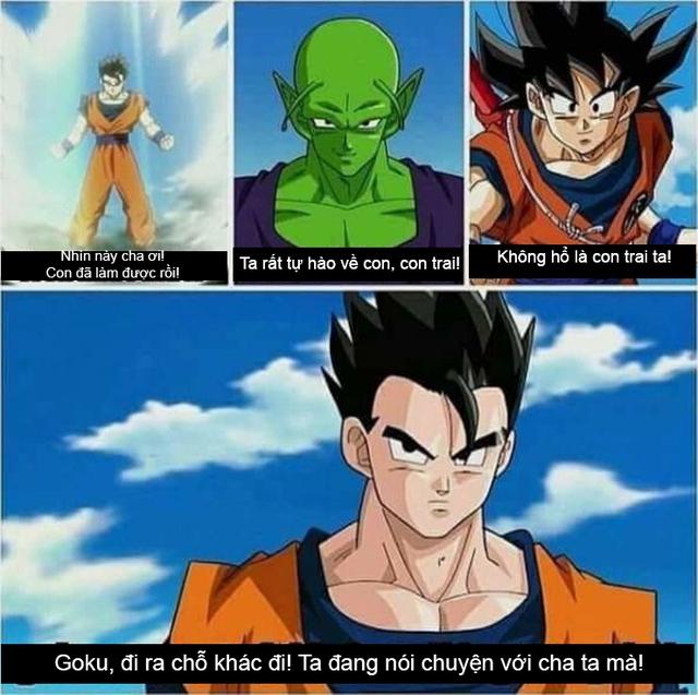 Xả stress ngày mưa với loạt ảnh hài khó đỡ minh chứng Goku không phải là người cha tốt - Ảnh 3.
