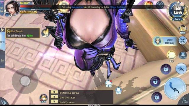 Vô tình rơi góc lag, nữ game thủ Ảnh Kiếm 3D khiến cả server nháo nhào vì góc quay xịt máu mũi - Ảnh 5.