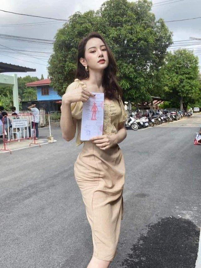 Loạt hình các người đẹp chuyển giới Thái Lan sẵn sàng nhập nghĩa vụ quân sự - Ảnh 10.