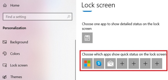 5 interesting things you can do with the Lock Screen screen on Windows 10 - Photo 4.
